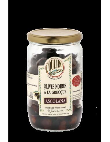 Olives Noires à la Grecque - Ascolana