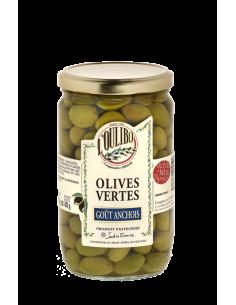 Olives Vertes - Goût Anchois